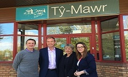 Lib Dem leadership descend on Ty-Mawr!