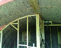COSYWOOL INSULATION USED IN GLAMPING PODS!
