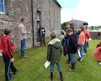 Young Archaeologists Club visit Ty Mawr