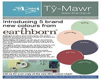 Introducing 5 Brand New Earthborn Colours