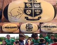 Lions Memoribillia for Auction in Aid of Velindre Cancer Care