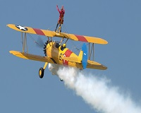 Todays the day!!! Our intrepid Accounts Manager Marg Price is completing her wing walk in aid of Velindre Cancer Care!