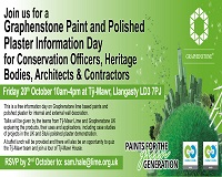 Graphenstone Paint and Polished Plaster Information Day
