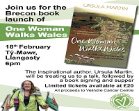 Brecon Book Launch at Ty Mawr