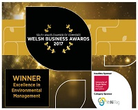 Ty Mawr named as winners in South Wales Chamber of Commerce Awards