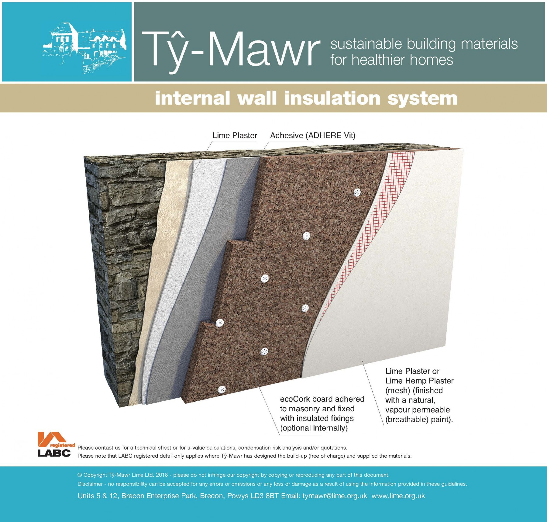 Expanded cork insulation system external wall insulation system their applications - Cork insulation home ...