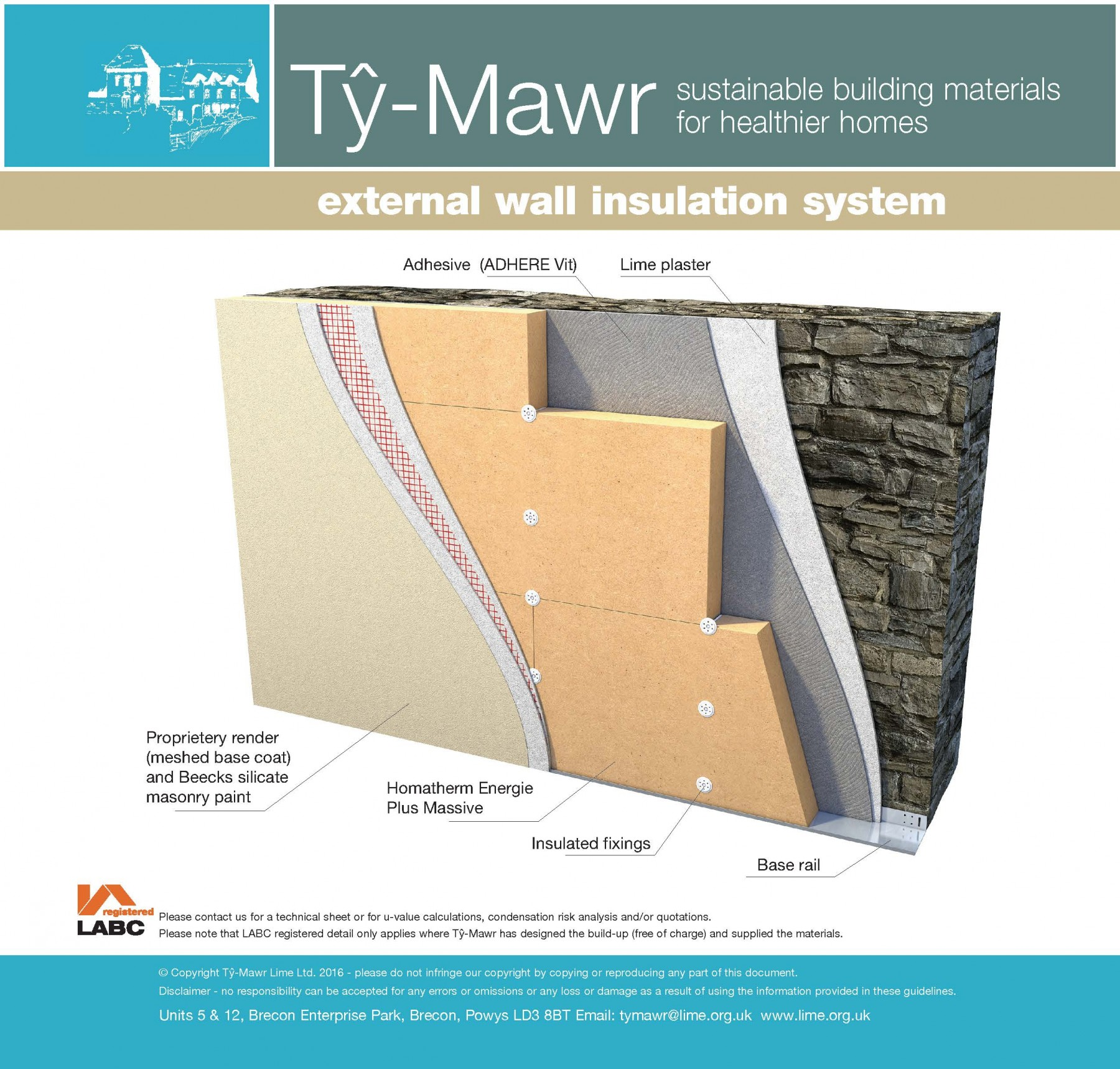 Homatherm External Wood Fibre Insulation System External