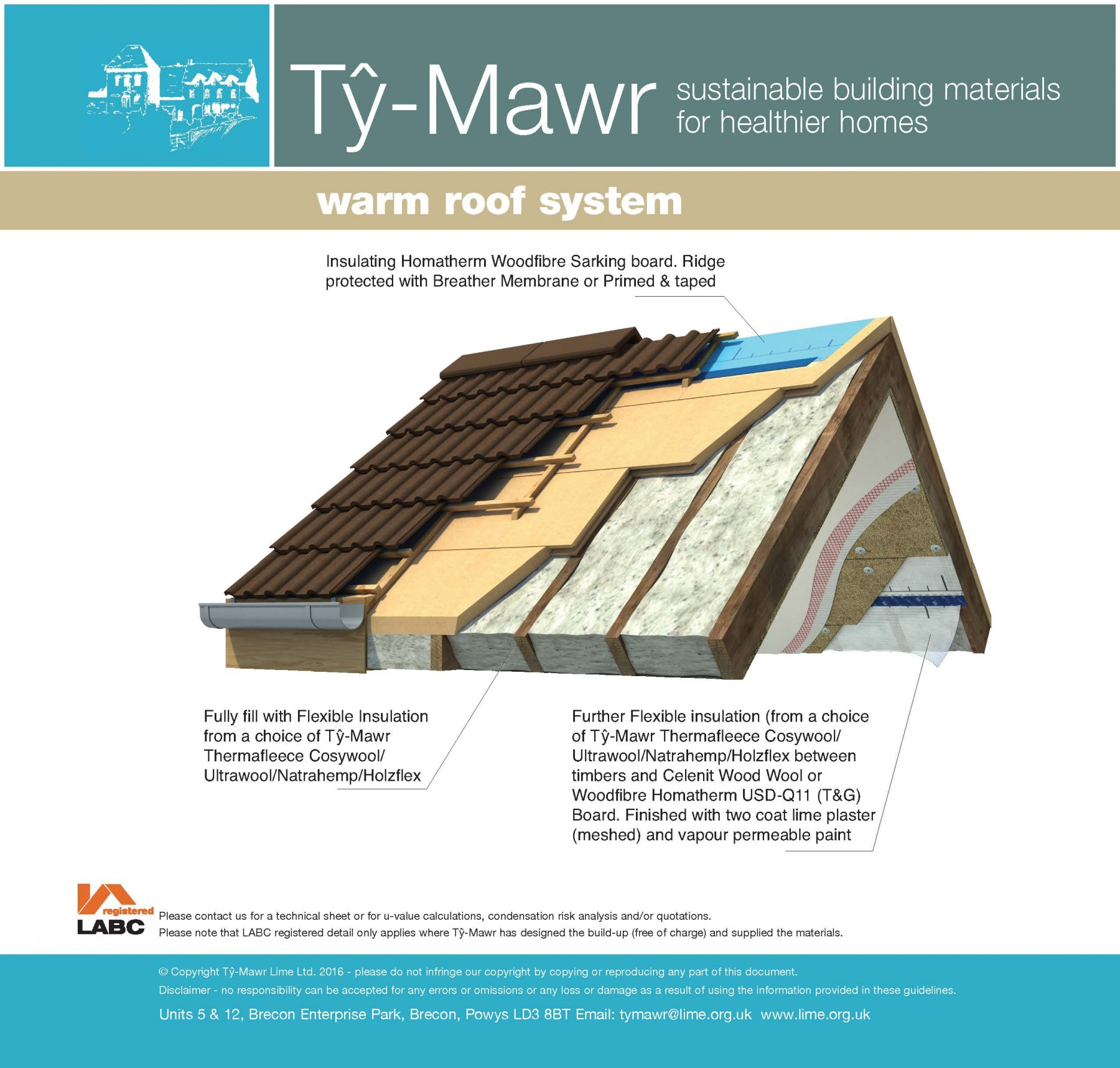 Warm Roof Insulation System Complete System Warm Roof
