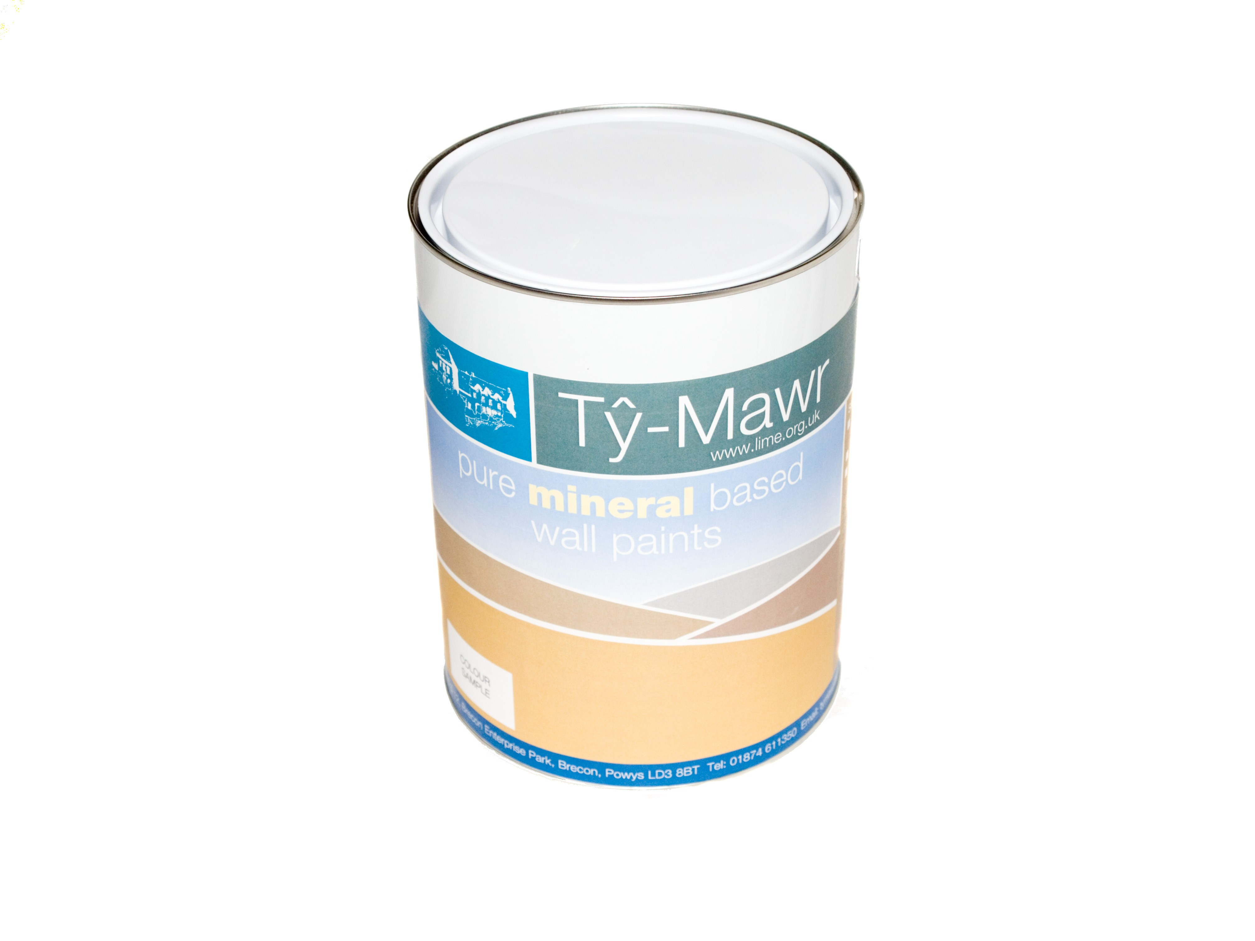 Ty-Mawr's Beeckosil Pure Mineral Based Paints - Colours of Wales