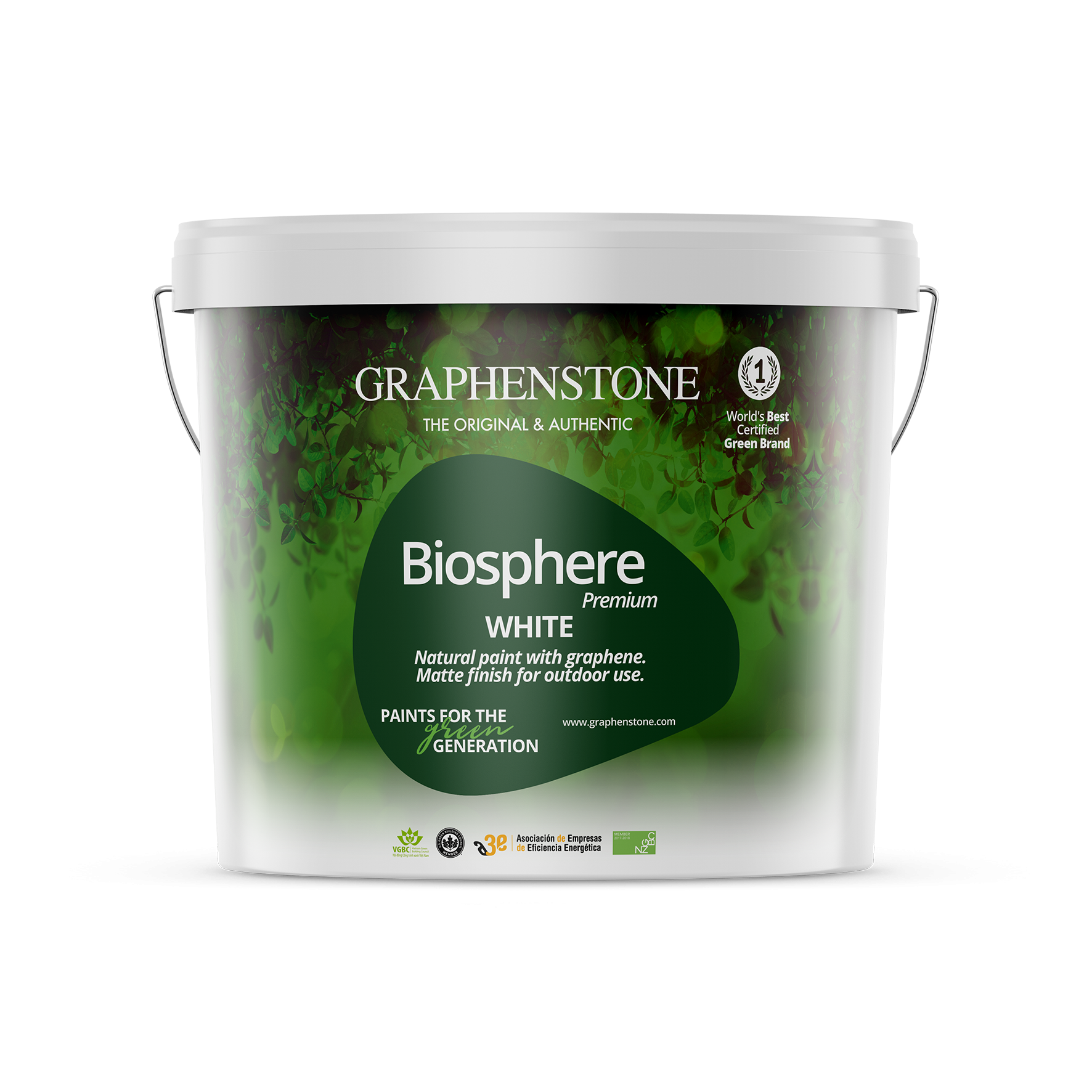 Graphenstone Biosphere Premium - White External Paint