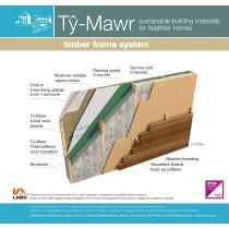 Timber Frame System - Timber Clad - Complete System
