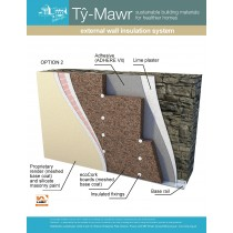 Expanded Cork Insulation System - External Wall