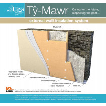 External Wall Insulation System - Sheeps Wool & Woodfibre