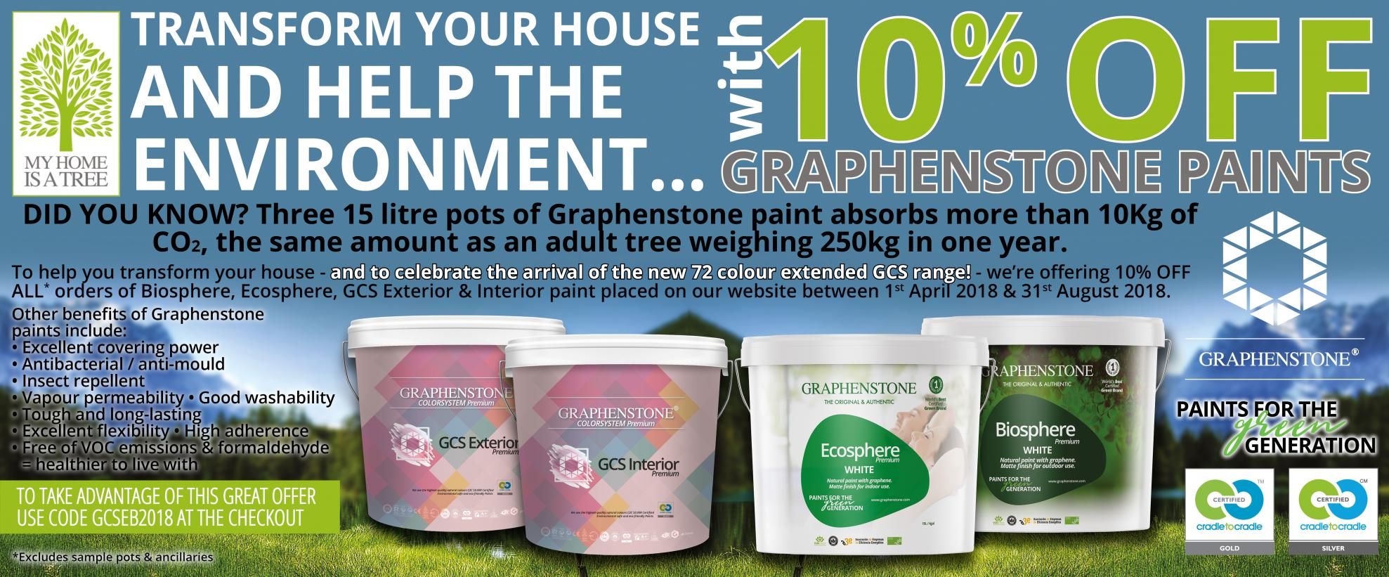 Graphenstone Paint Promotion