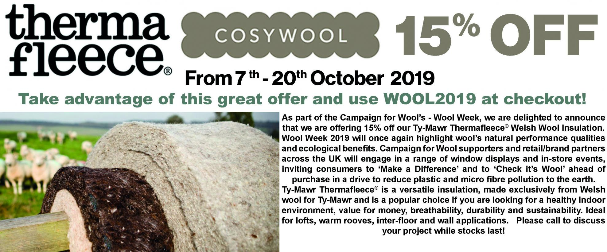 Wool Week Promotion