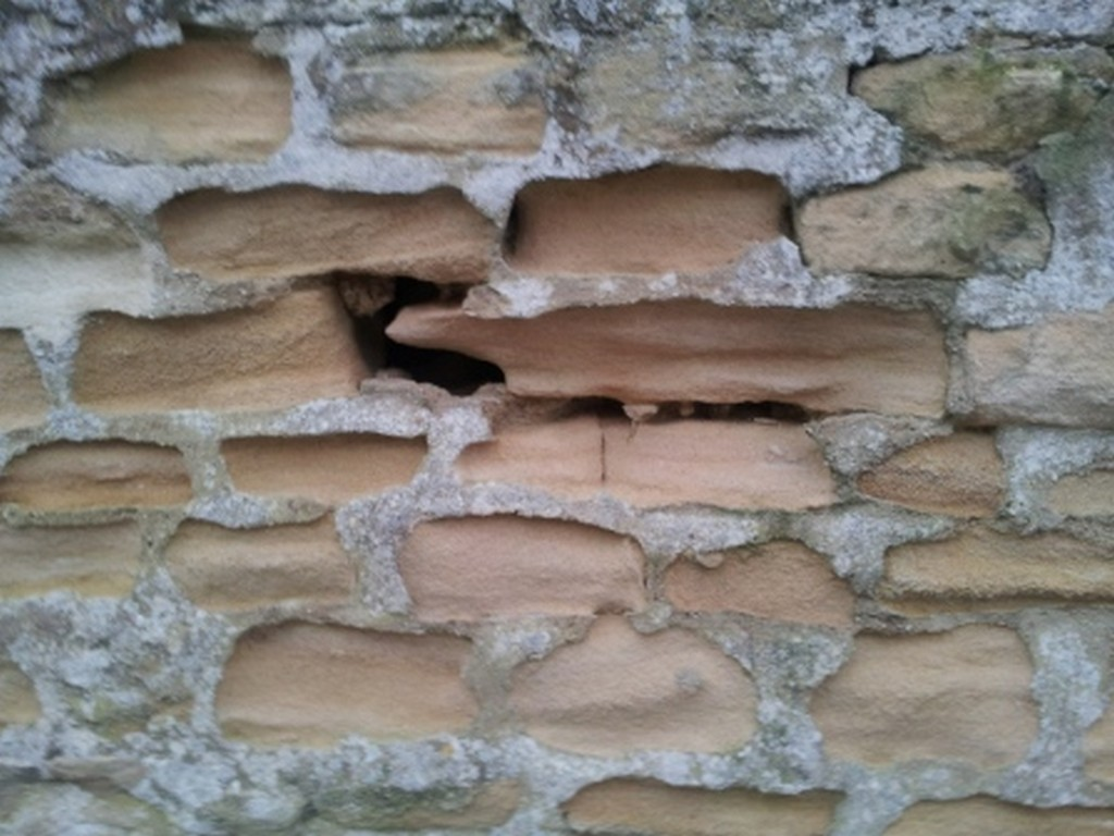 Hard cement pointing causes damage to the fabric of buildings