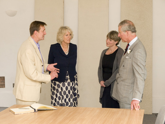 HRH Prince of Wales and HRH Duchess of Cornwall